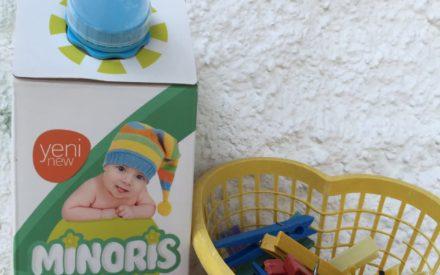 MinorisBaby:Bor içeren Organik Çamaşır Temizleme Sıvısı